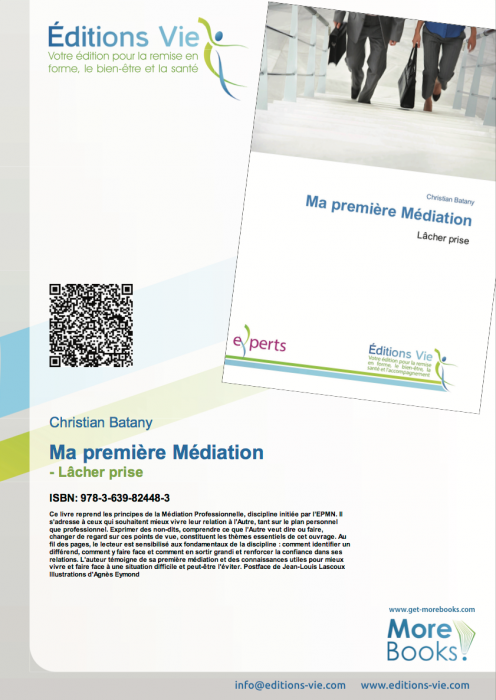 page de couverture 3mediation